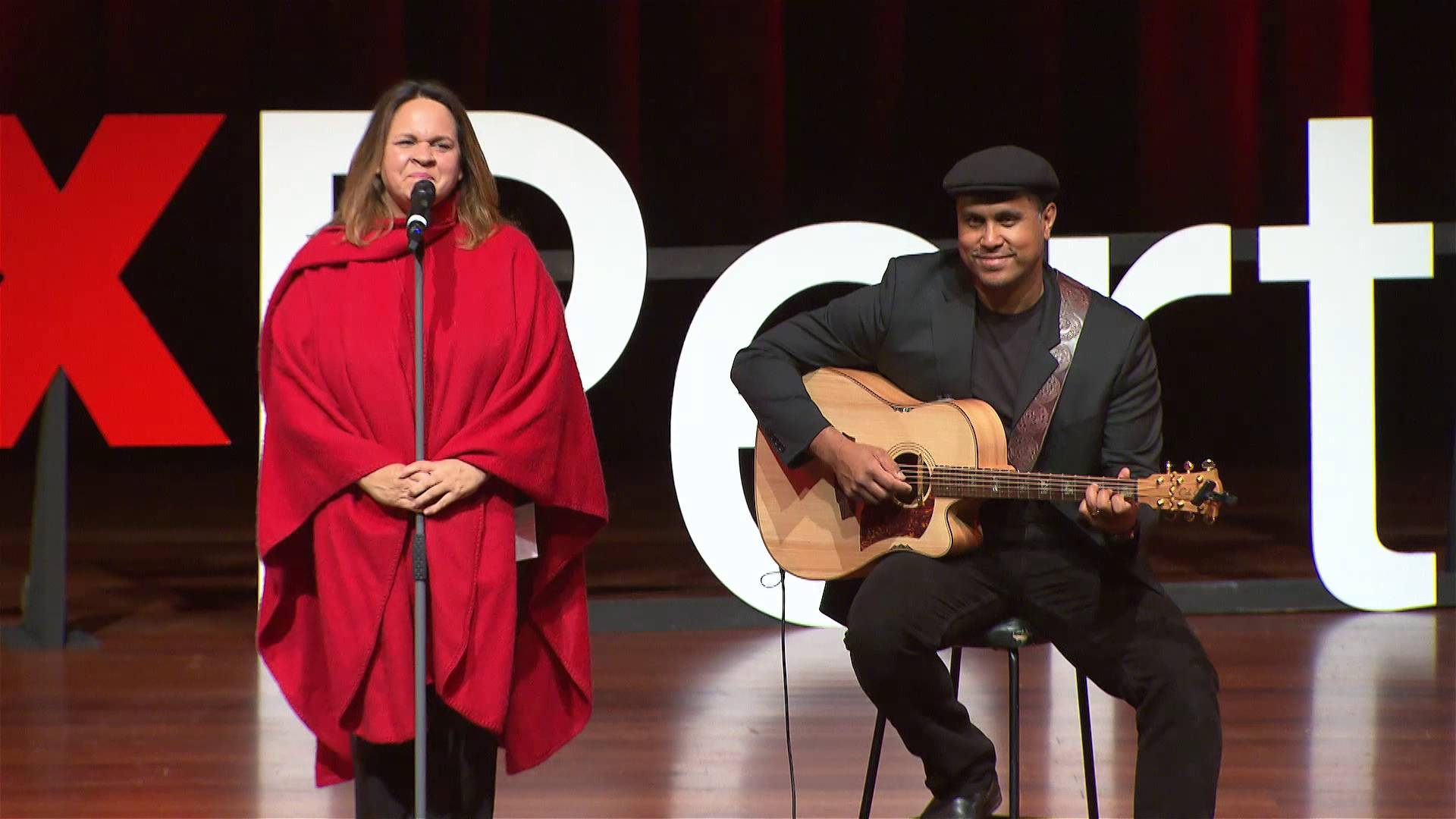 Kalyakoorl and Boorda | Gina Williams and Guy Ghouse | TEDxPerth