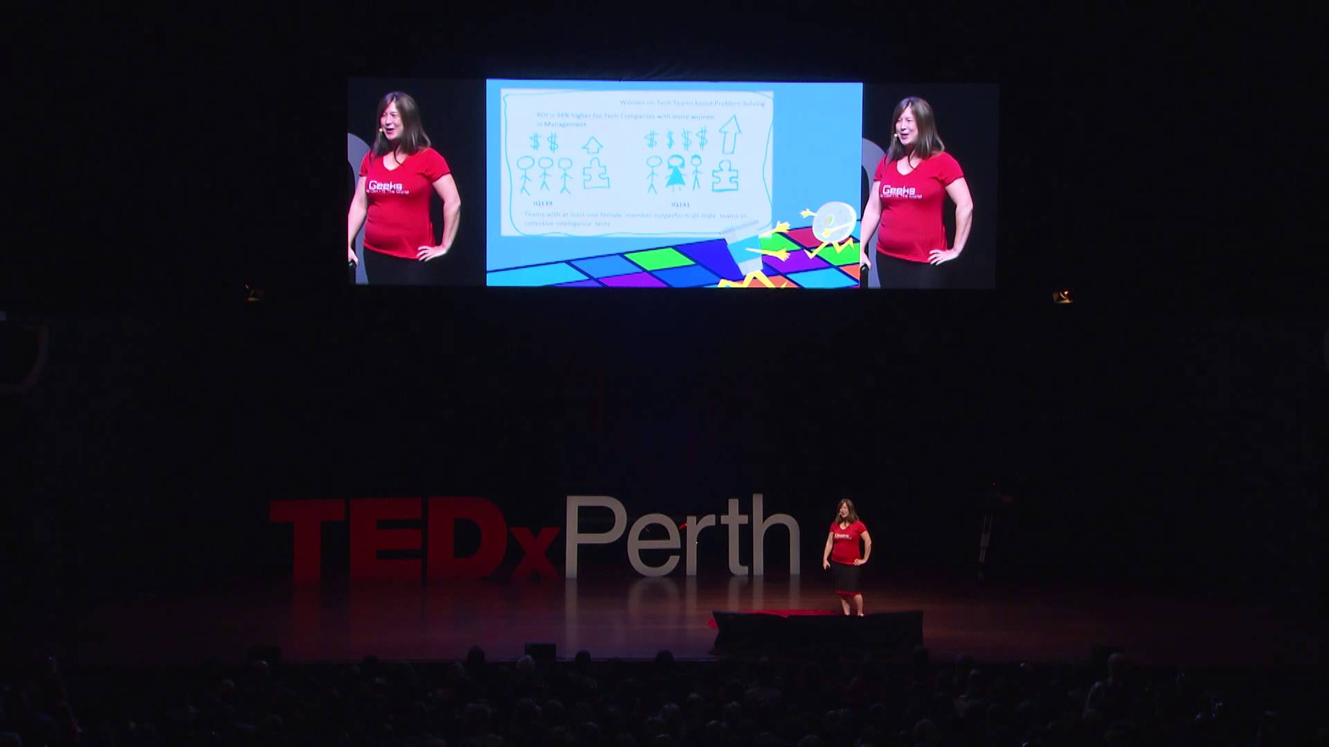 Where Have All The Girls Gone? | Michelle Sandford | TEDxPerth